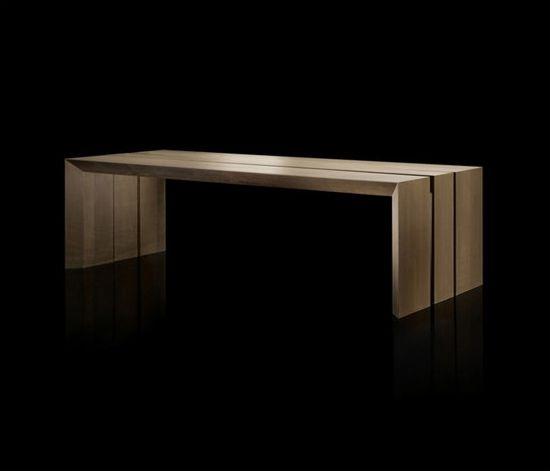 Design Tisch Esszimmermöbel Hochwertiges Massivholz Massimo Castagna