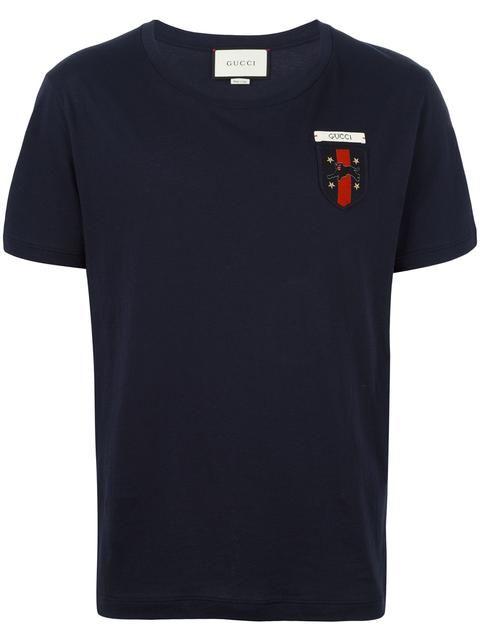 14d677ddbce GUCCI Web crest T-shirt.  gucci  cloth  t-shirt