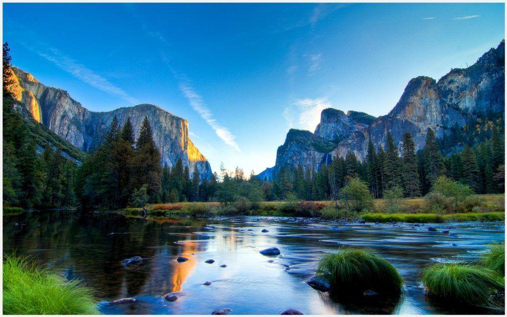 Landscape Hd Wallpapers 1080p: Yosemite Valley Landscape Wallpaper