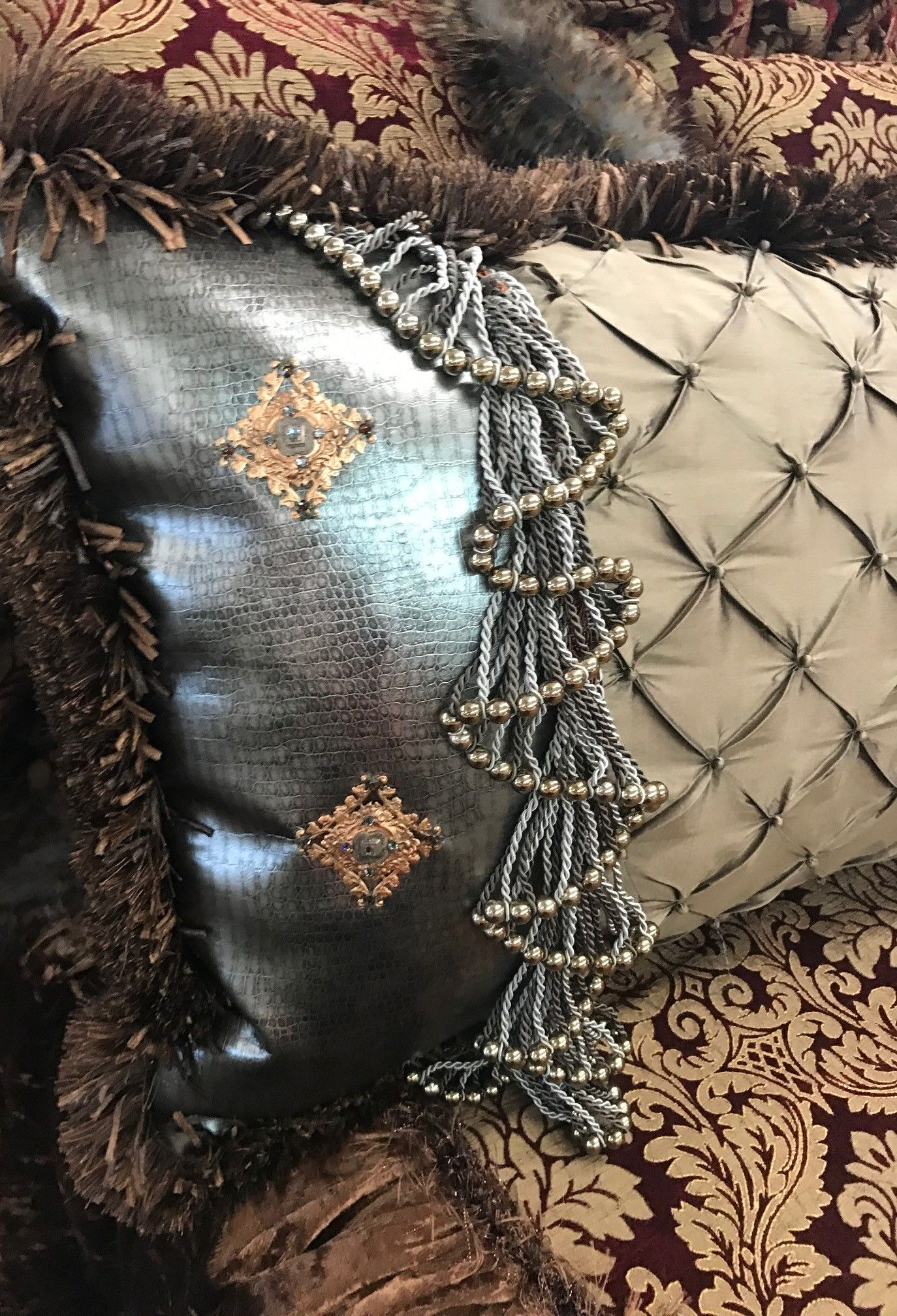 Luxury Accent Pillows from the