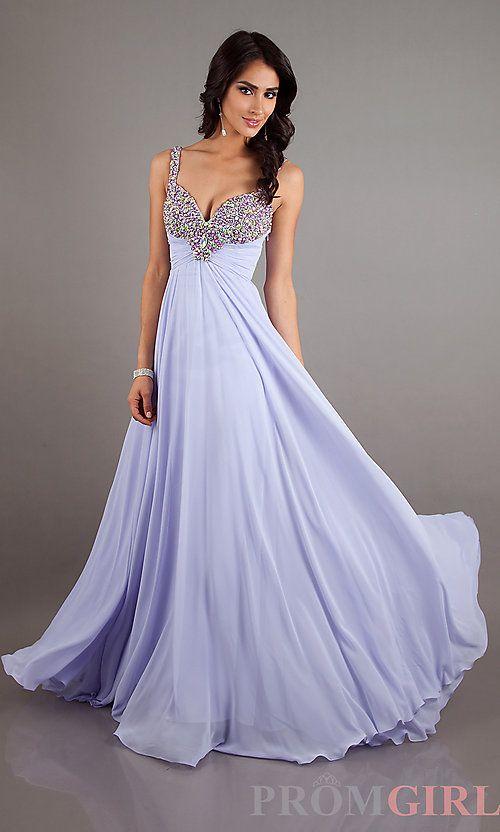 Light Purple Colored Prom Dresses