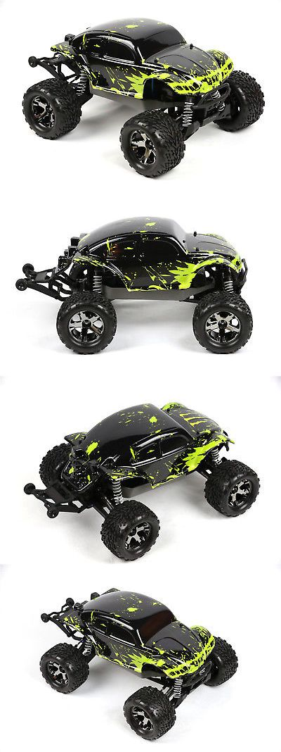 Body Parts and Interior 182203: Custom Body Muddy Bug Green