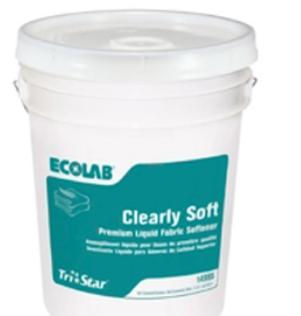 Avm Enterprises Inc Ecolab Clearly Soft Liquid Fabric Softener