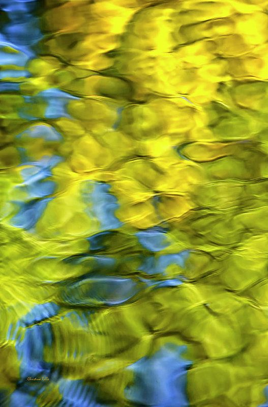 Sea Breeze Mosaic Abstract Art Print by Christina Rollo. All prints ...