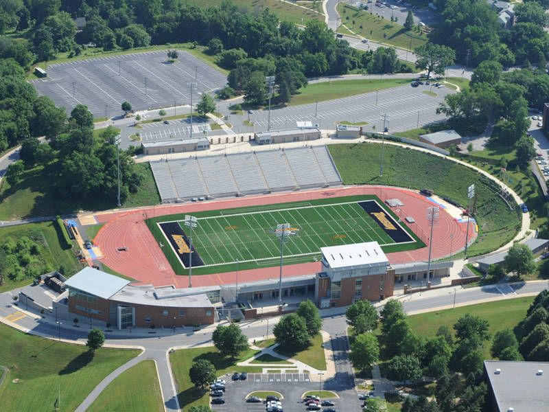 Maryland State Championships Take Place At Towson University On November 3 Repin To Show Your Tiger Pride Or If We W Johnny Unitas Towson University Stadium