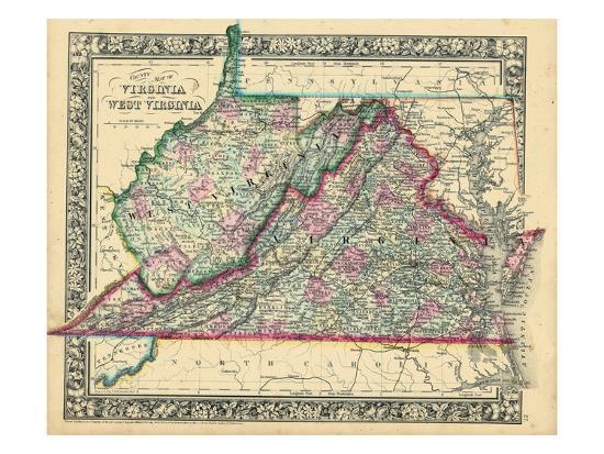 '1864, United States, Virginia, West Virginia, North