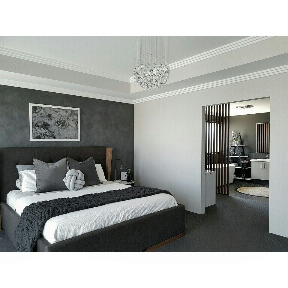 Grey Bedroom #decor #bedroom