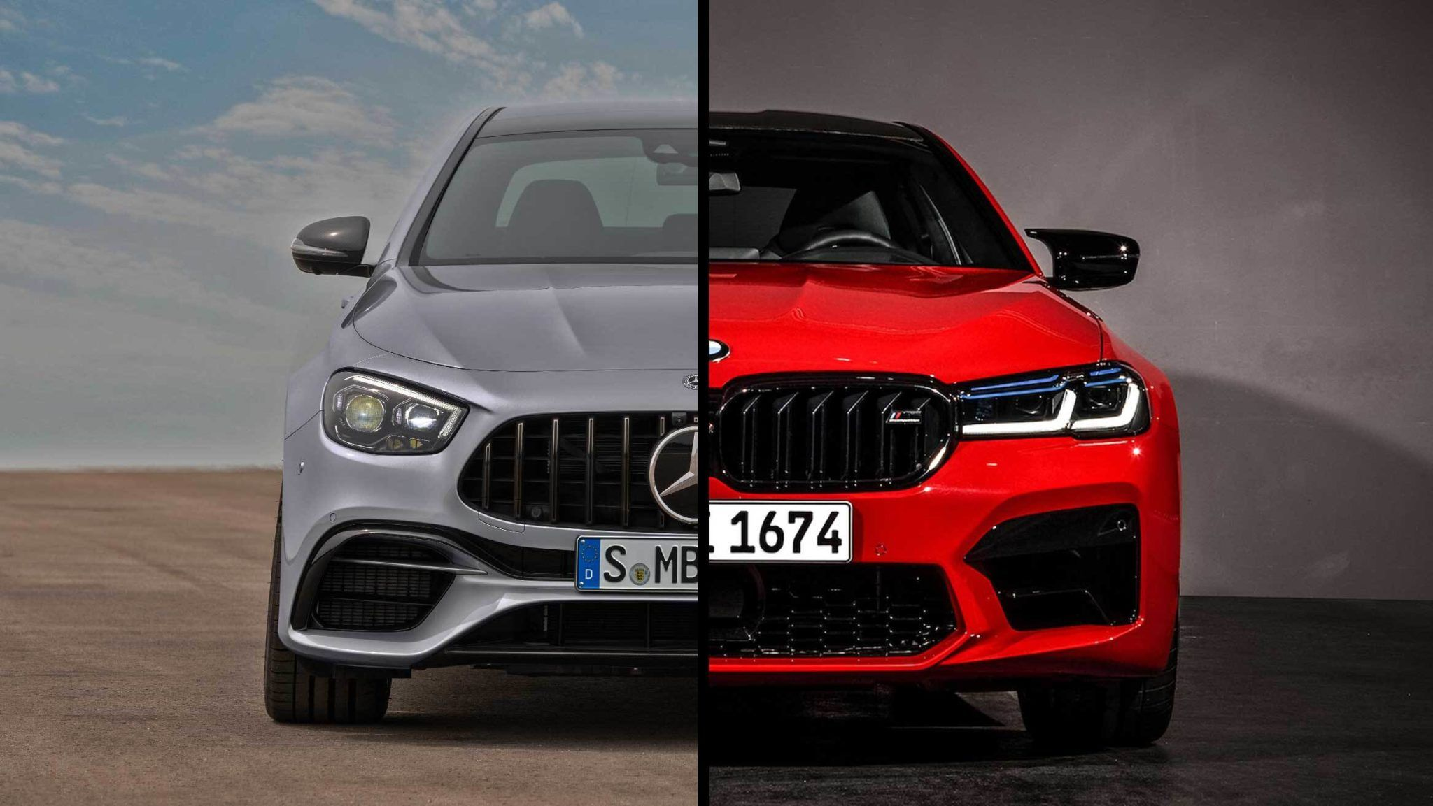 2021 BMW M5 vs. 2021 MercedesAMG E63 S By the Numbers in