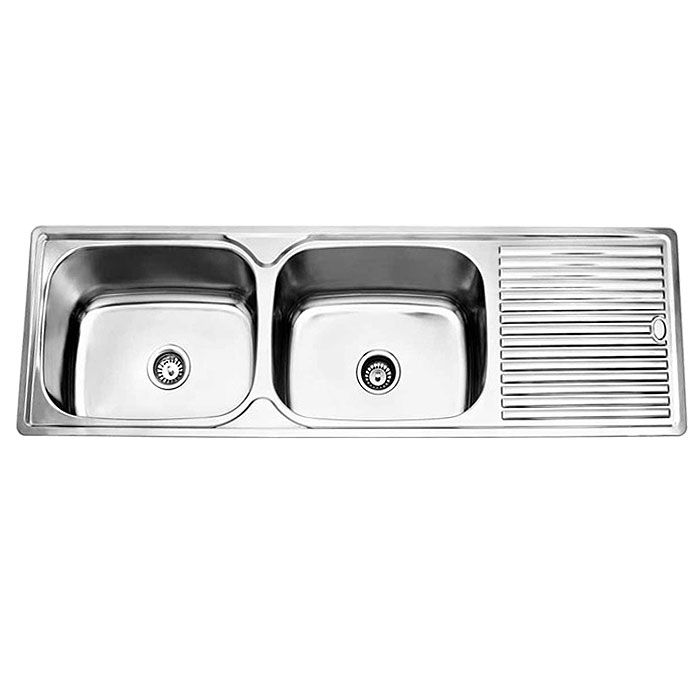 Get This Classic Double Laundry Trough With Drainer