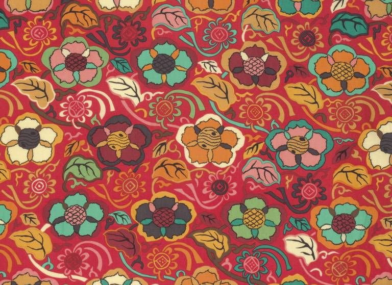Temple Brocade Fabric - Himalaya Collection by Snow Leopard Designs