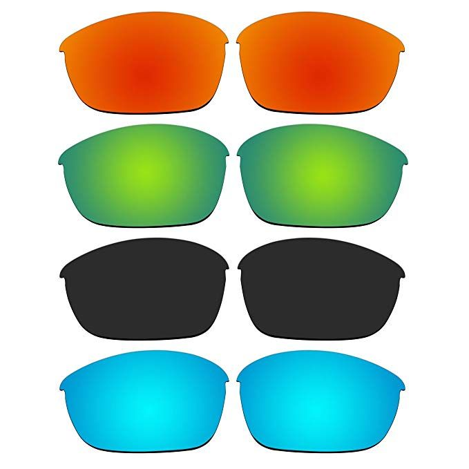 cf3358cab9 4 Pair Replacement Polarized Lenses for Oakley Half Jacket 2.0 Sunglasses  Pack P11 Review