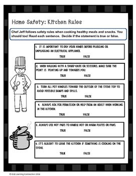 Home Safety Kitchen Rules Kitchen Rules Home Safety Healthy