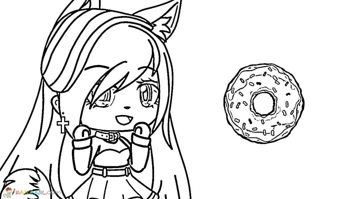 Gacha Life Coloring Pages. Unique Collection. Print for Free