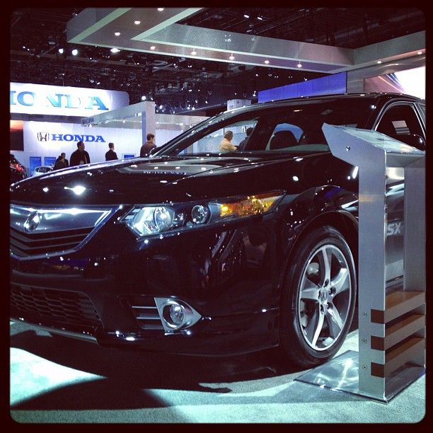 The 2012 Acura TL At The 2012 North American International
