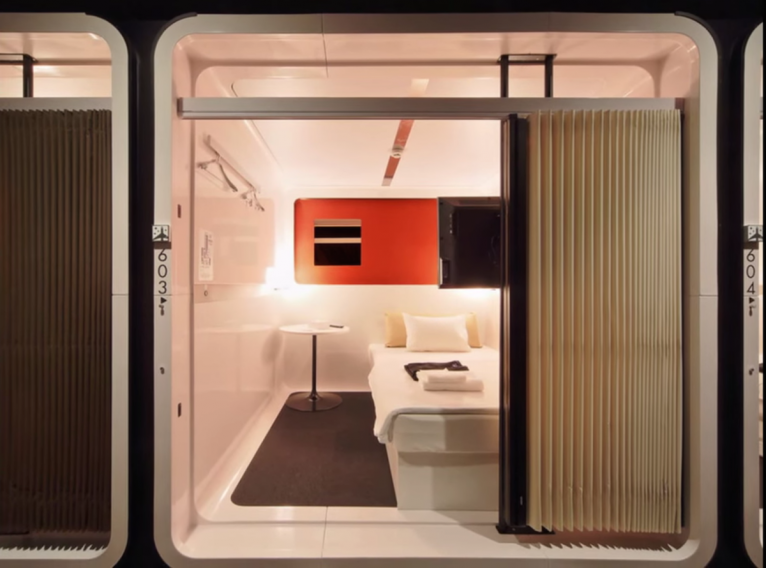 8 hightech pod hotels that will change the way you travel