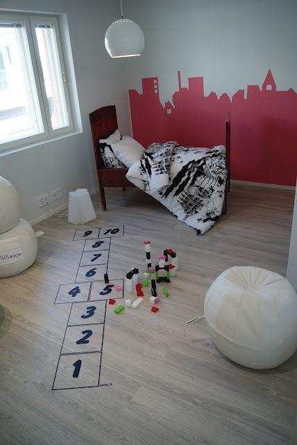 """Großartige Idee für´s Kinderzimmer: aber nur wenn das """"Rumgespringe"""" niemanden stört :-))"""