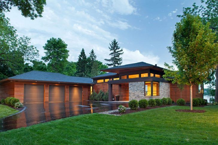 Image result for concrete farmhouse hip roof modern one story
