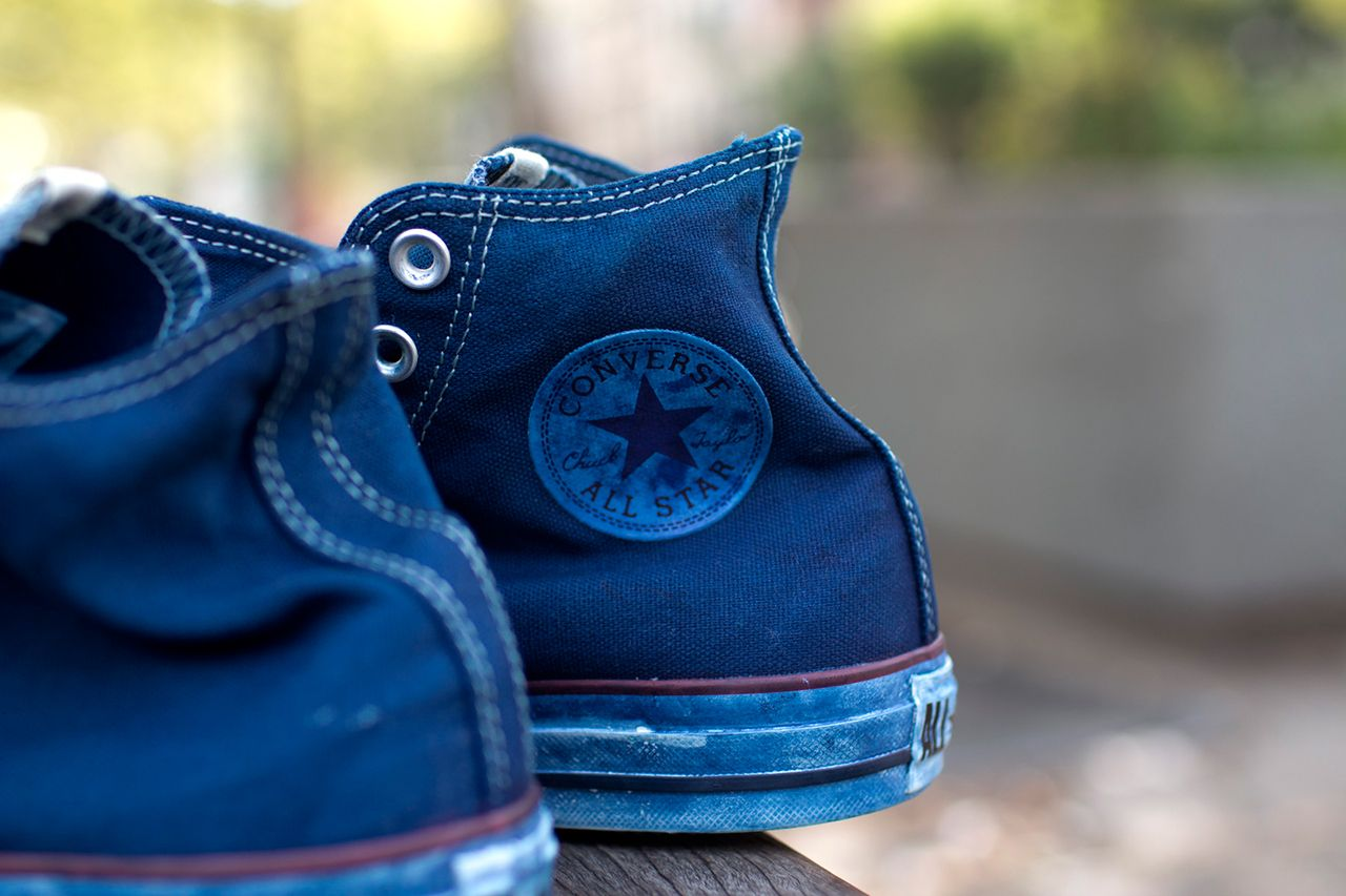 6c5bee7d2822 Image of 3sixteen x Converse Indigo-Dyed Chuck Taylor All Star
