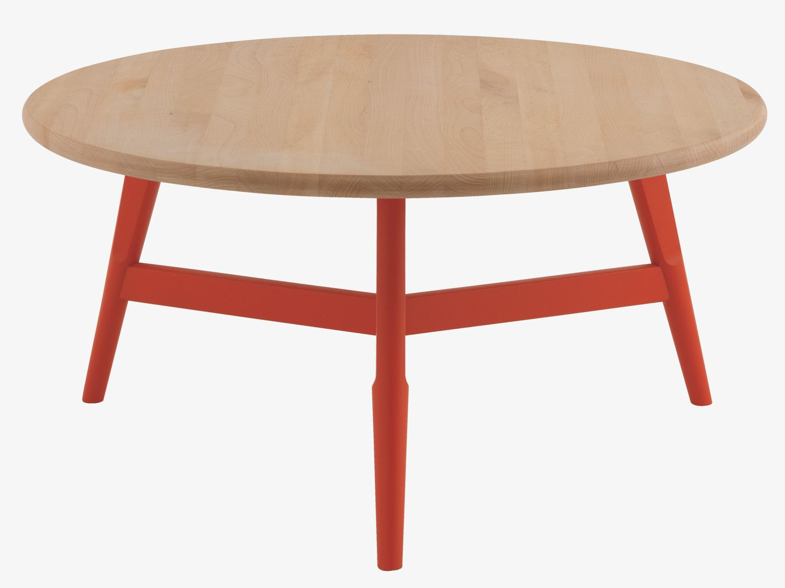Habitat Home Sweet Home Red Coffee Tables Round Wood Coffee