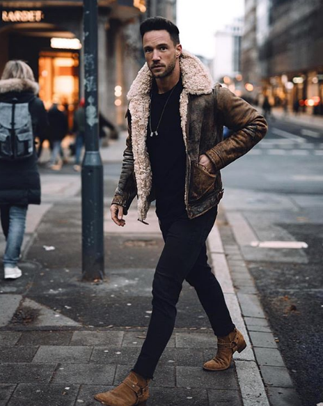 10+ Street Smart Winter Outfits for Men , Fashion Trend 2019