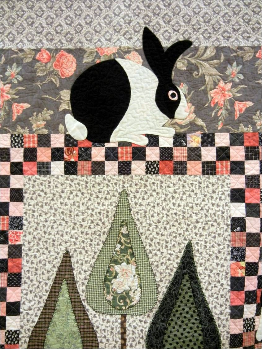 Those of you who have been following us for a while know that we love Easter time. Quilts with chicks, eggs, bunnies and baskets are at the...
