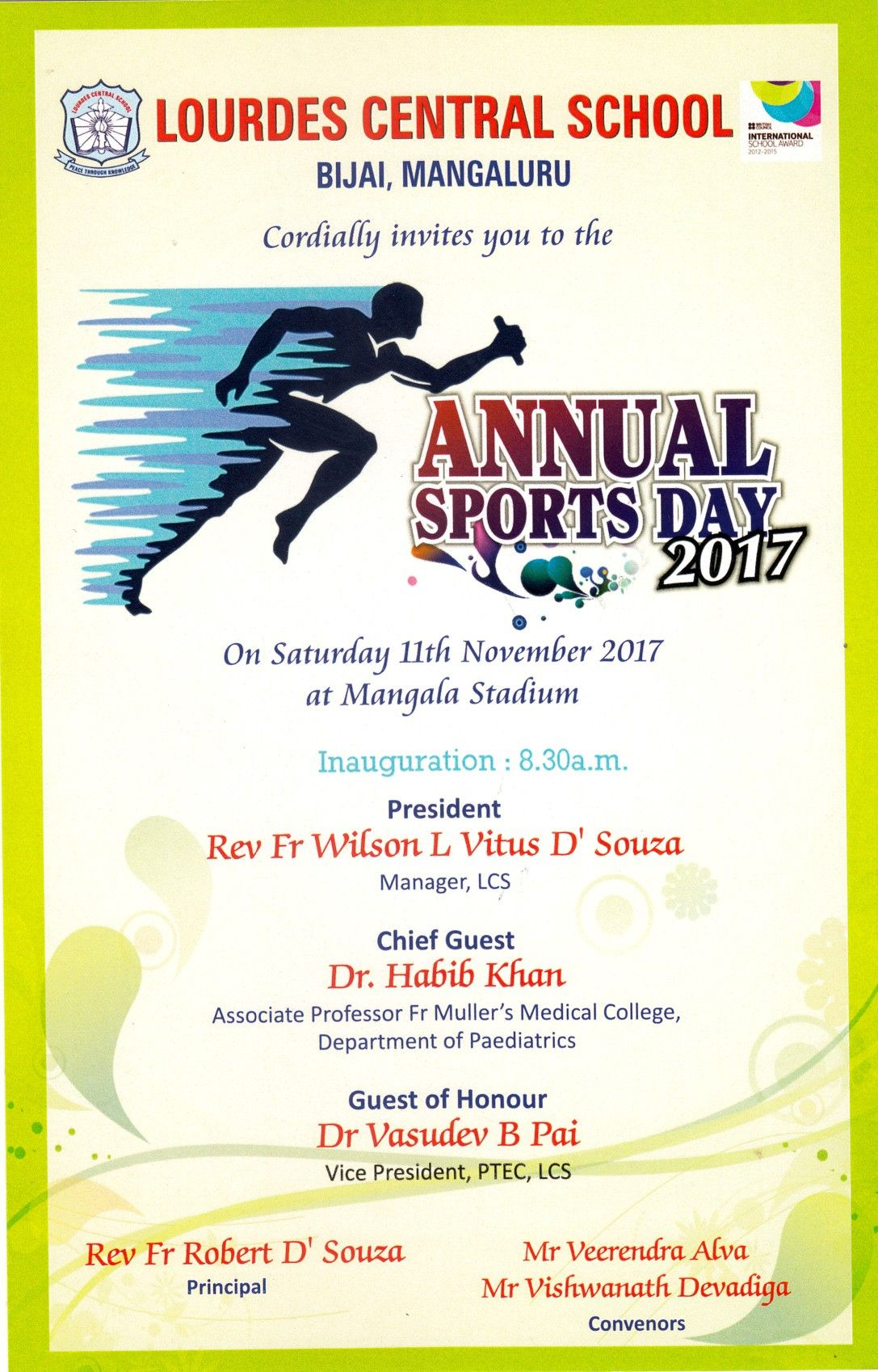 13 New Annual Day Invitation Card Background Photos in 2020 | Sports day  invitation, Sports day, Sports invitations