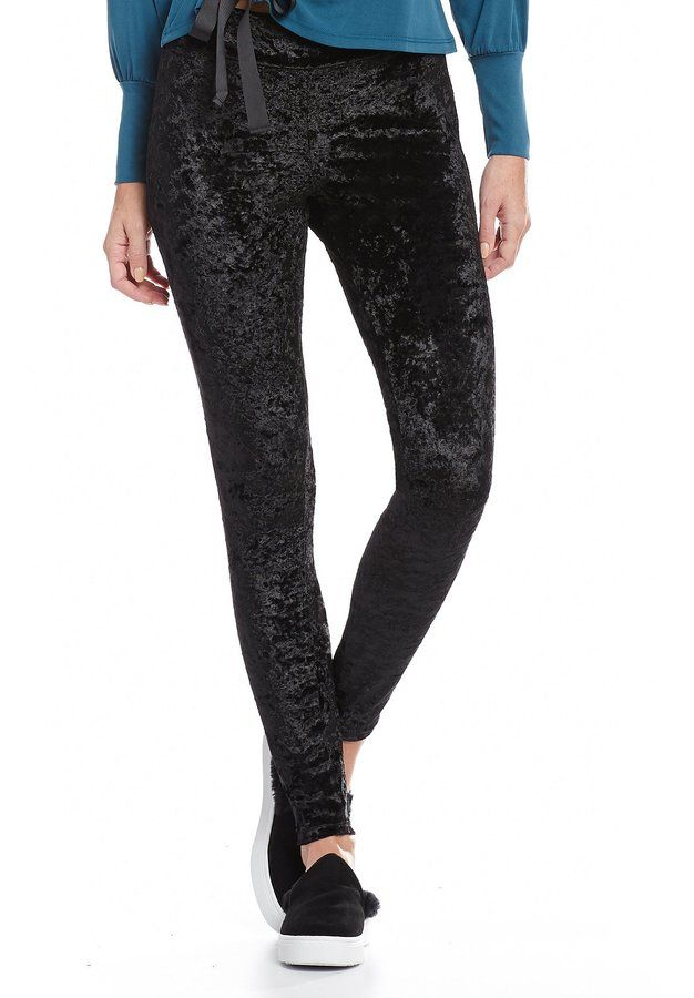 b58f9a67d951a Hue Crushed Velvet Leggings Crushed Velvet Leggings, Dillards, Hue, Black  Jeans, Crushes