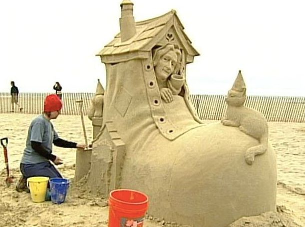 Sand Sculpture - Hampton Beach