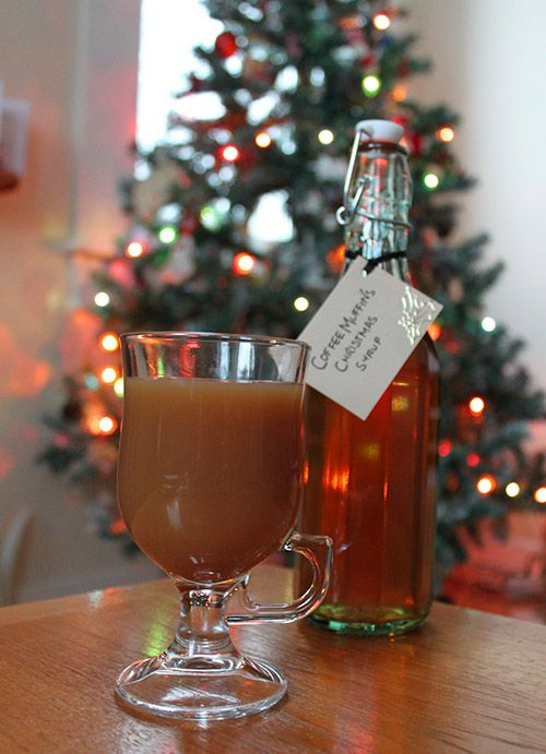 Christmas Flavoured Syrup for Coffee (With images ...