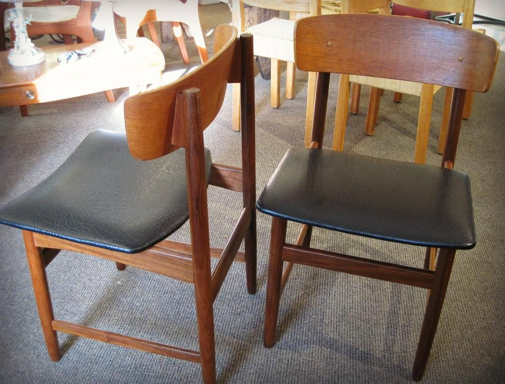 Quick Come And Grab That Extra Danish Modern Teak Chair Or Two For Just 99 Each Teak Chairs Modern Furniture Chair