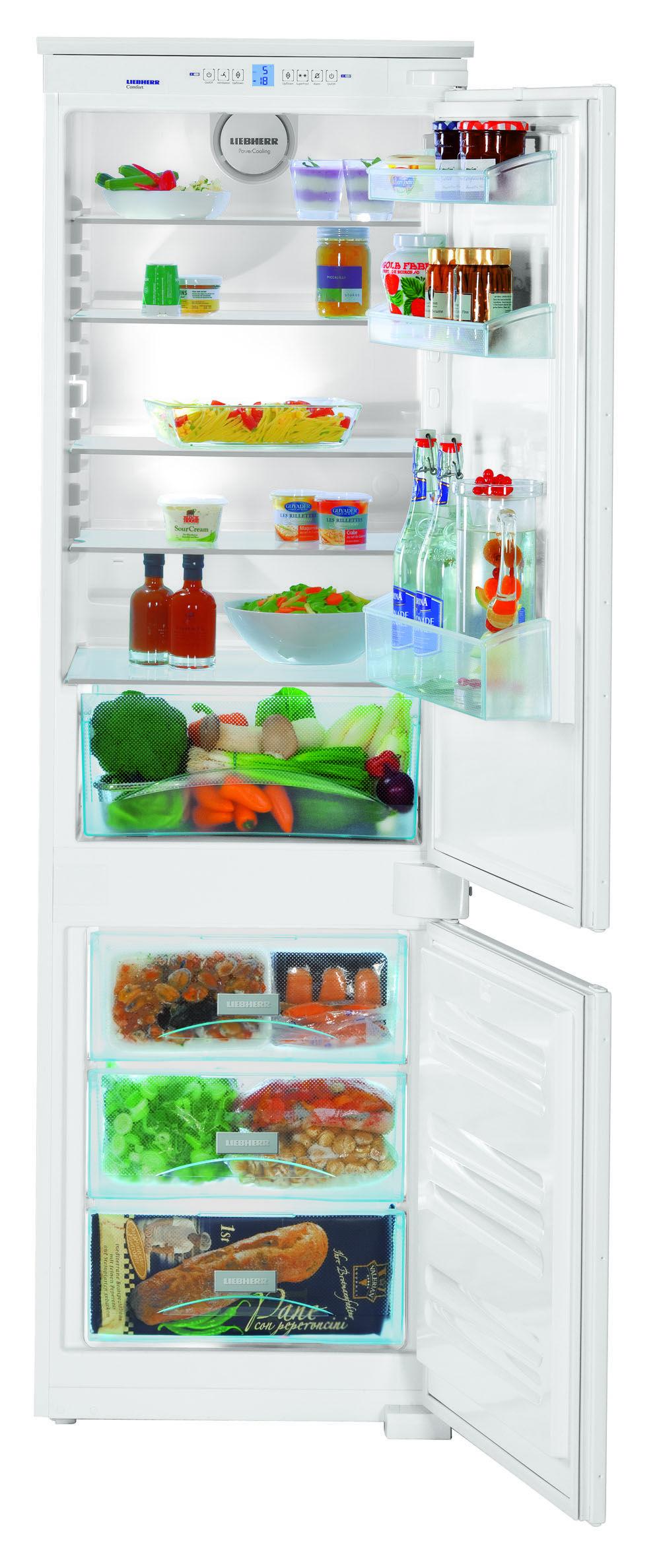 Liebherr Ics 3304 Comfort Built In Fridge Freezer