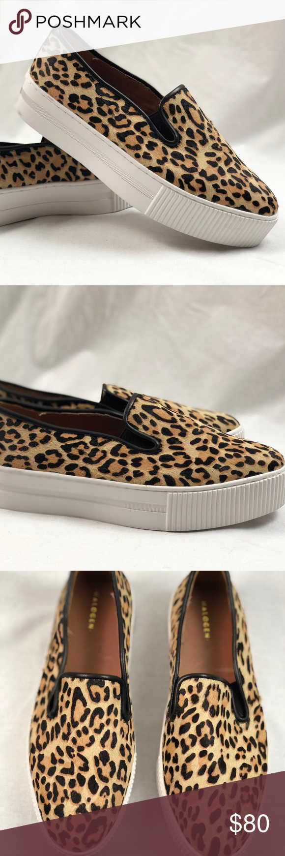 1fb2b9767be Halogen Baylee Platform Leopard Slip-On Sneaker Halogen Baylee Platform  Leopard Haircalf Slip-On Sneaker. Condition  New without box.
