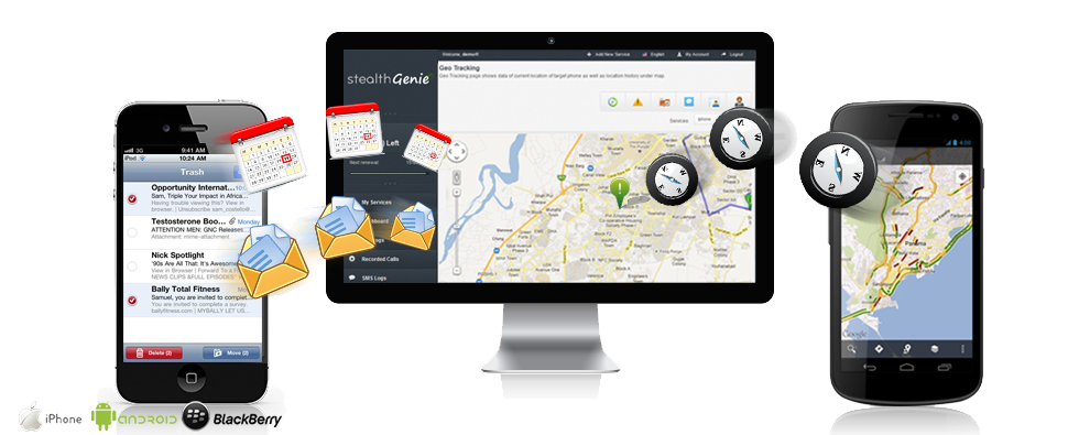 Mobile tracking software helps you to trace the location