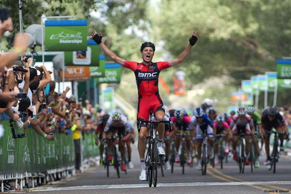 cyclingnews @cyclingnieuws1 Great win from micheal Schar in the 2nd stage of #tourofutah pic.twitter.com/IKGObkwIZQ