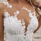 Photo of Rückenfreies Hochzeitskleid aus Spitze,  #aus #Hochzeitskleid #Rückenfreies #Spitze
