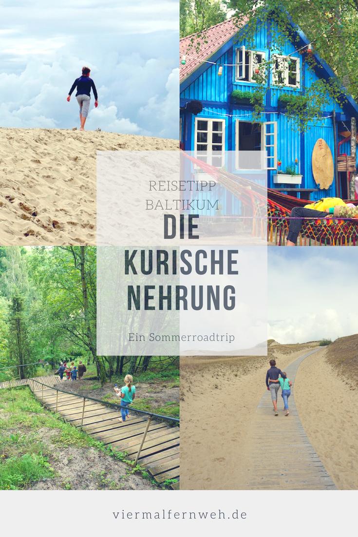 Auf Den Dunen Der Kurische Nehrung Reiseblog Viermal Fernweh Urlaub Reisen Familienreisen