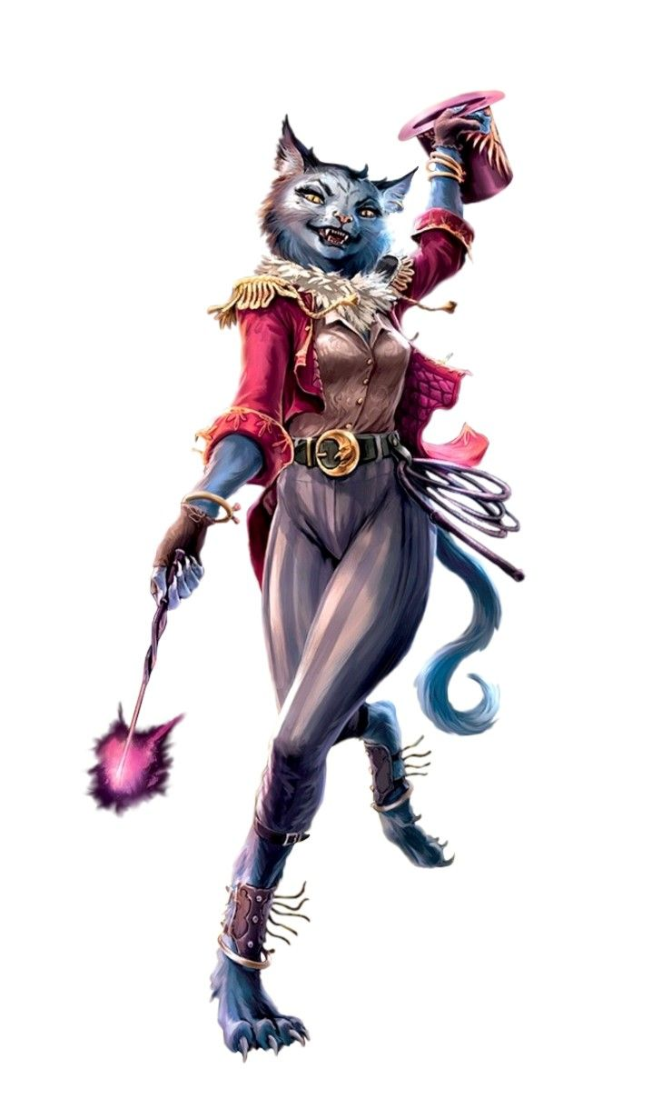 Female Catfolk Circus Bard Pathfinder 2e Pfrpg Dnd D D 3 5 5e 5th Ed D20 Fantasy Pathfinder Character Fantasy Character Design Circus Characters By dirsh december 20, 2017. pathfinder 2e pfrpg dnd d d 3 5 5e 5th