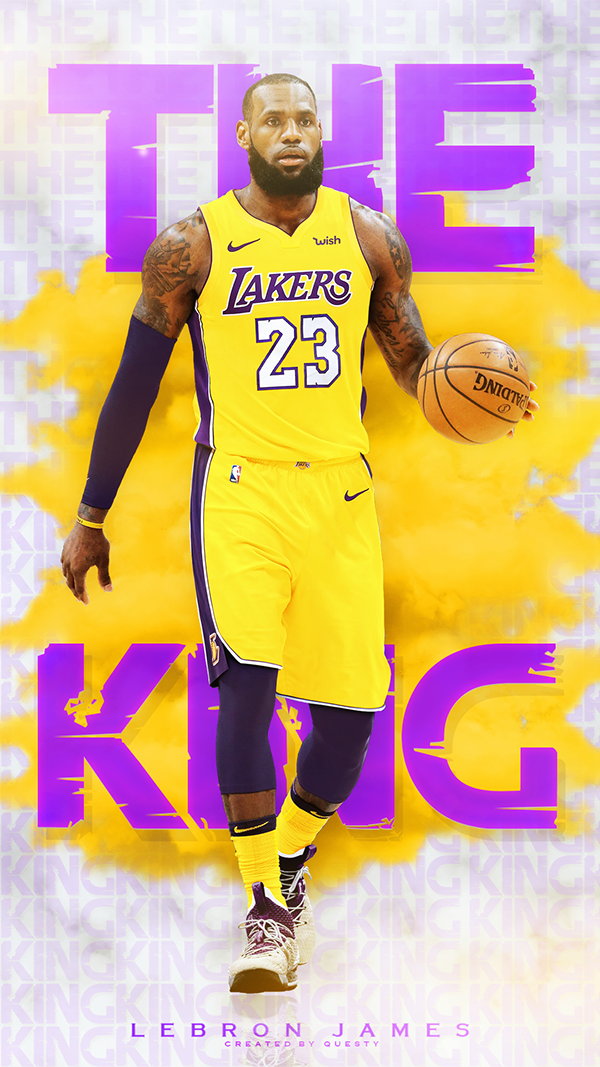 Phone Wallpapers On Behance Lebron James Lakers Lebron James Kobe Bryant Lebron James