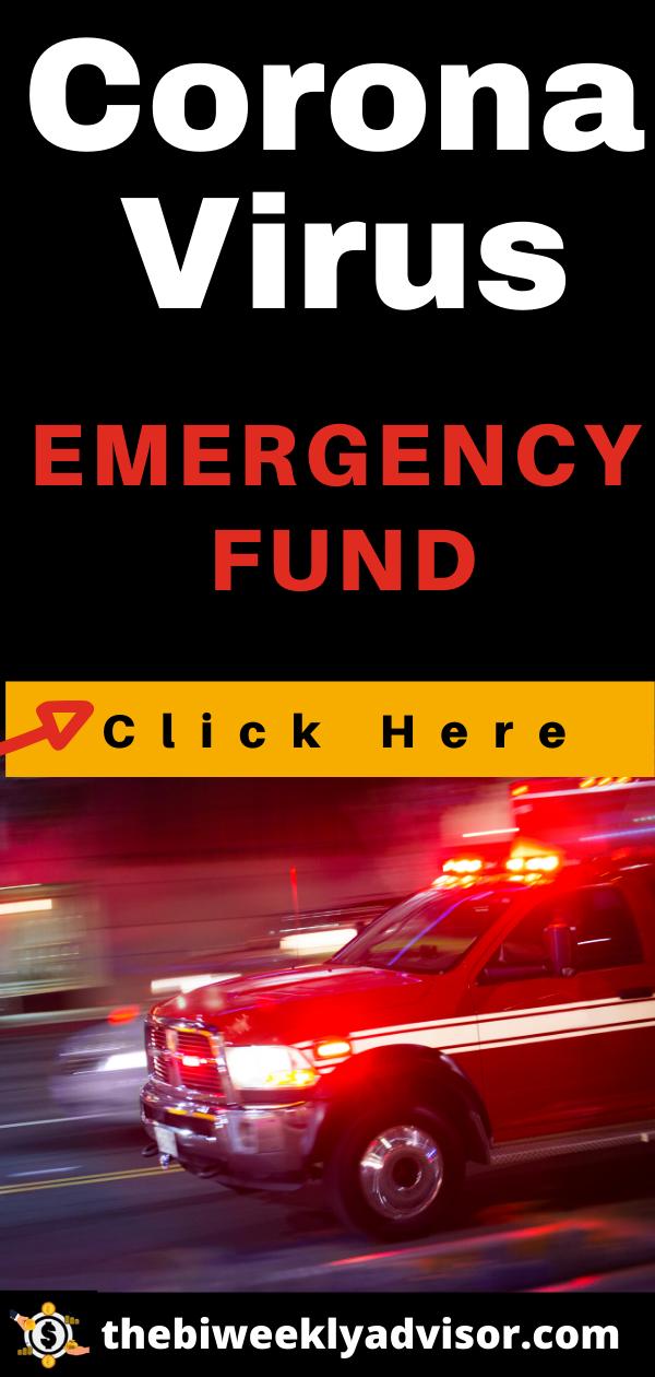 Corona Virus: Emergency Fund