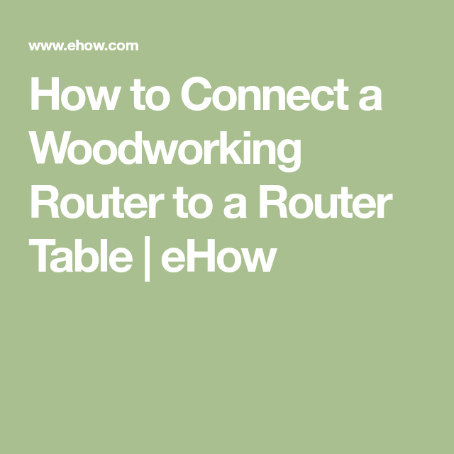 How to connect a woodworking router to a router table router how to connect a woodworking router to a router table keyboard keysfo Images