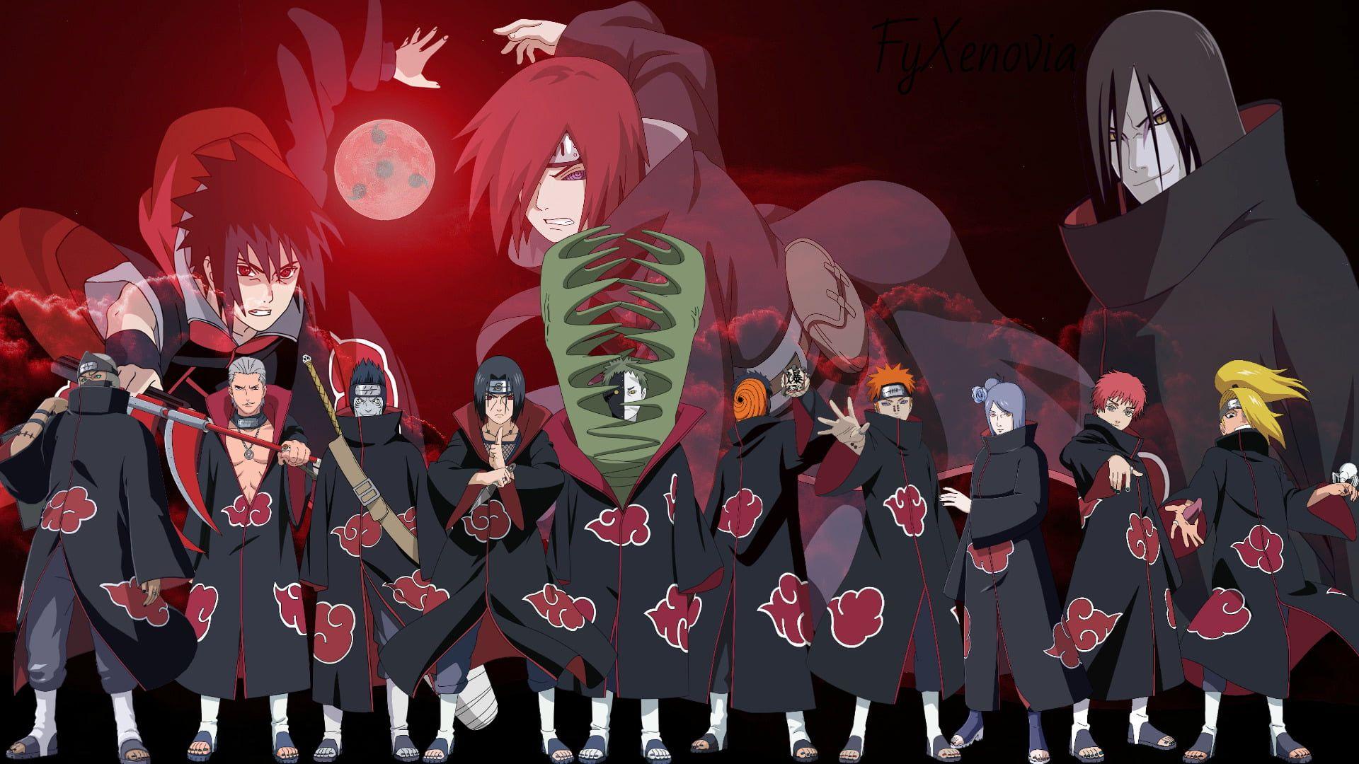 Naruto Characters Illustration Anime Naruto Akatsuki Naruto Deidara Naruto Hidan Naruto Itachi Uchiha Kakuzu Naruto K Akatsuki Naruto Wallpaper Anime
