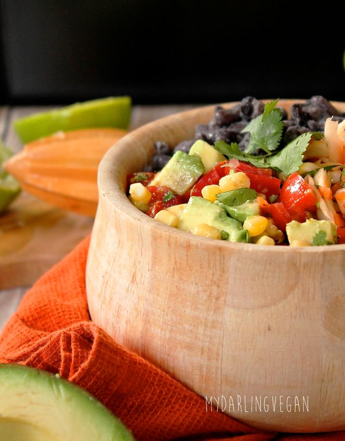 Vegan Burrito Bowl   My Darling Vegan