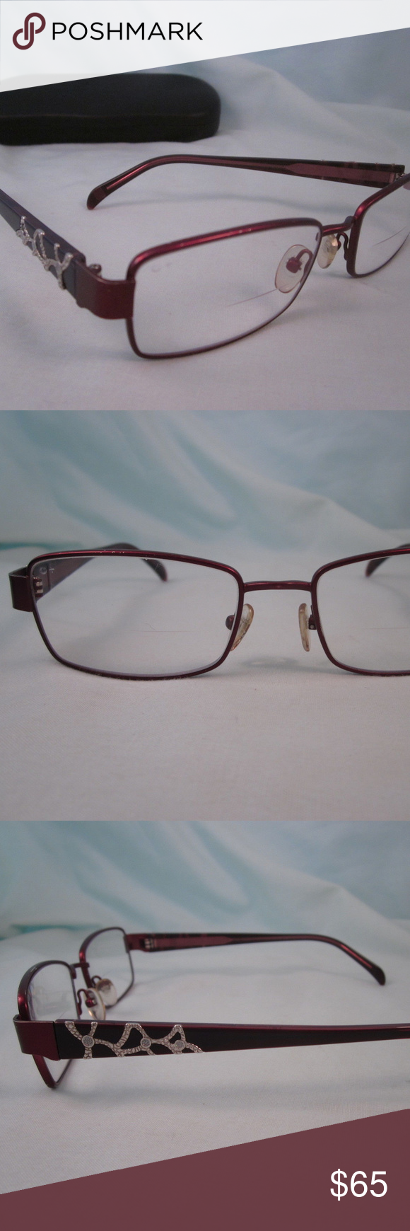 ARMOURx 7008 O+ Rx Eyeglasses Metal Plastic Frames Rx
