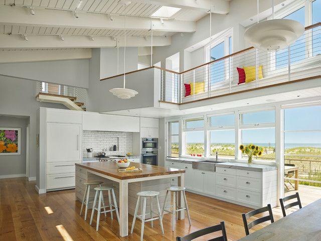 25 best beach style kitchen design ideas | kitchens, beach and house