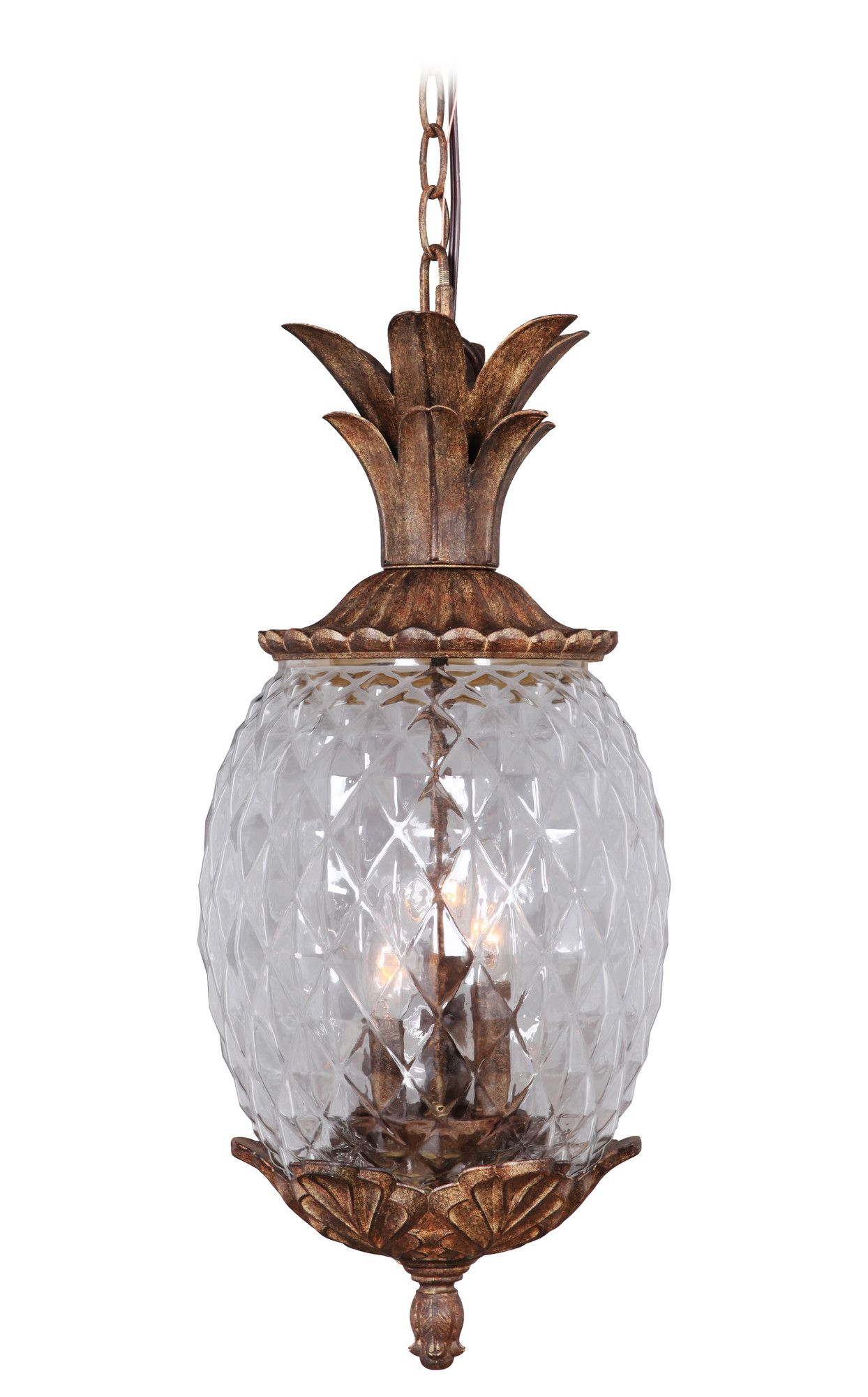 Marianahome pineapple 3 light pendant reviews wayfair lighting marianahome pineapple 3 light pendant reviews wayfair aloadofball Gallery