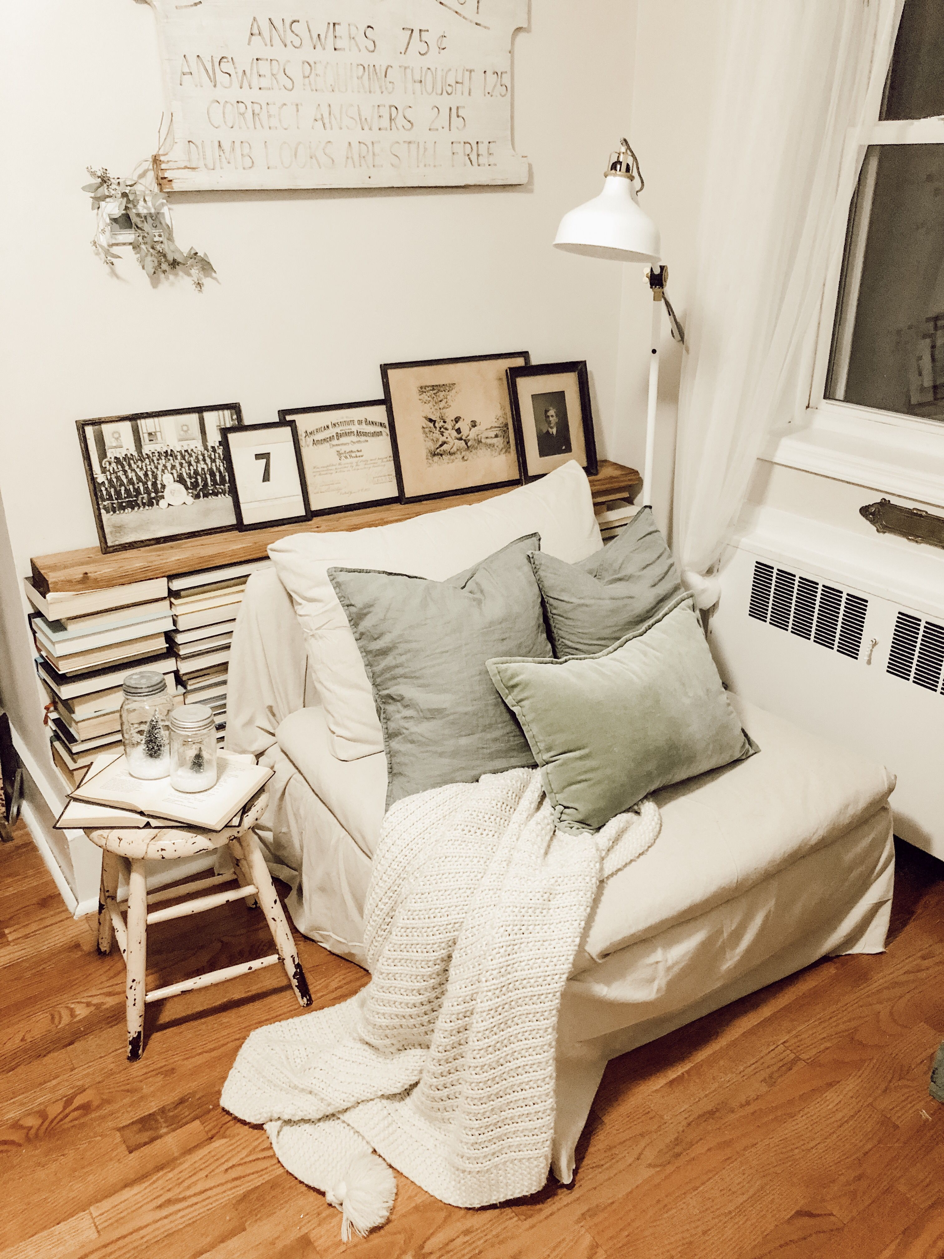 Vintage Collected Book Nook