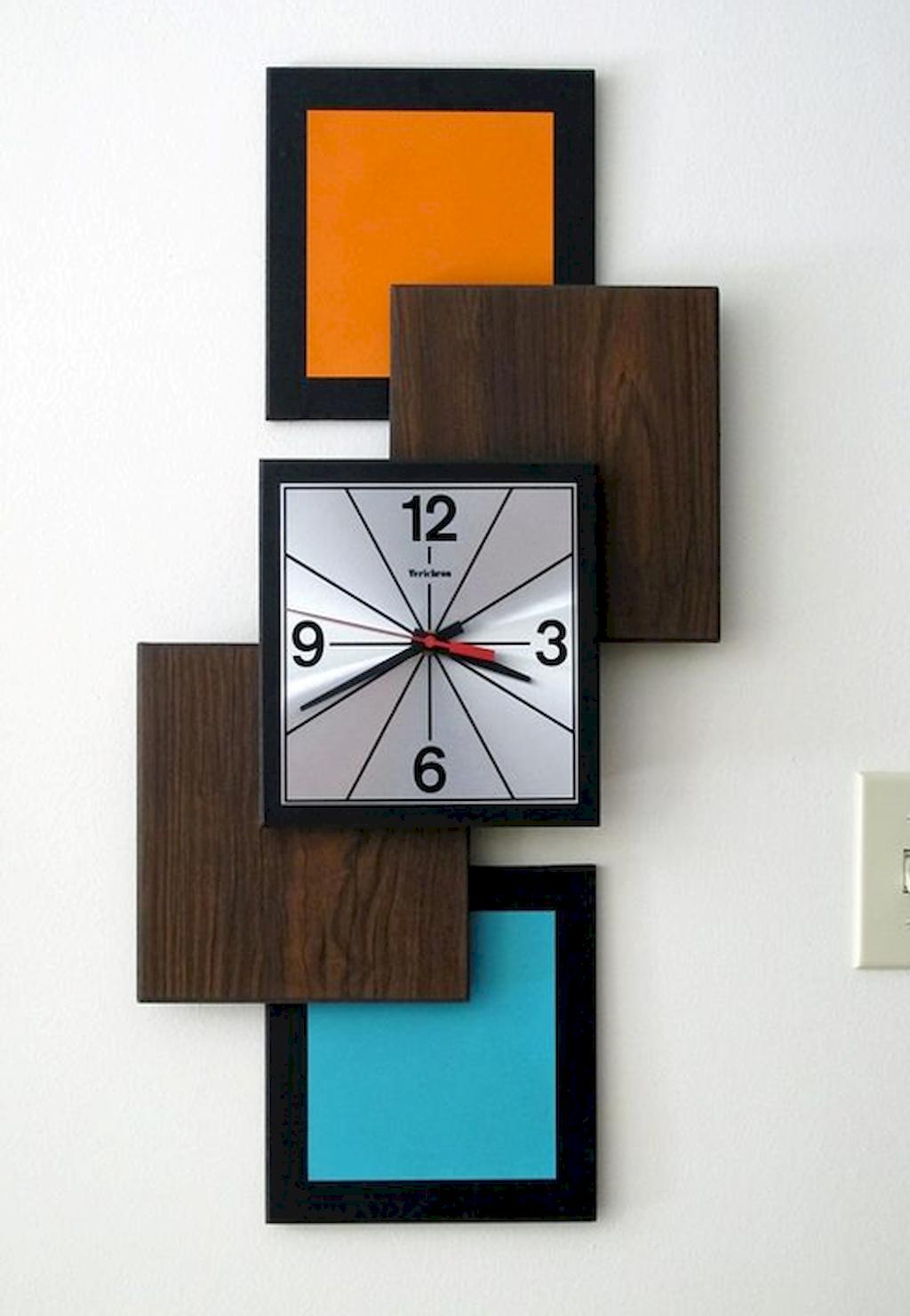 Modern Wall Clocks Mekkanico 052 Modern Round Wall Clock In Natural Color Relojes De Pared Originales Relojes De Pared Relojes De Madera