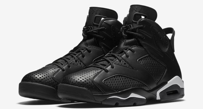 finest selection 8186b 00765 The Air Jordan 6 Black Cat colorway is still available for ...