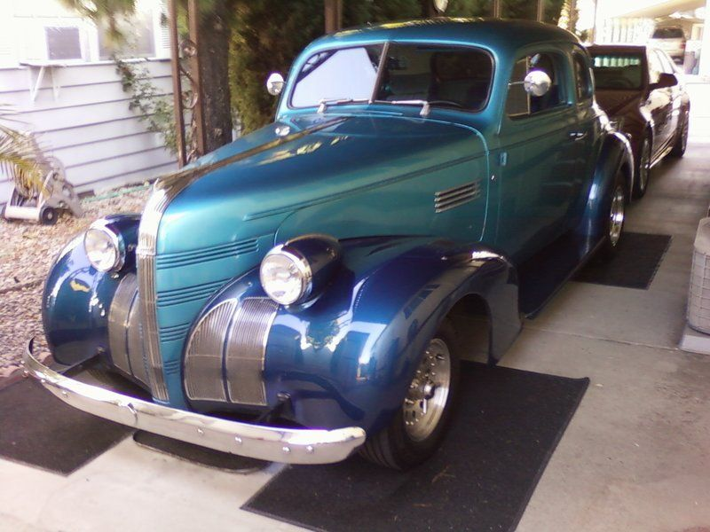 1939 Pontiac coupe for sale by Owner - Santa barbara, CA ...