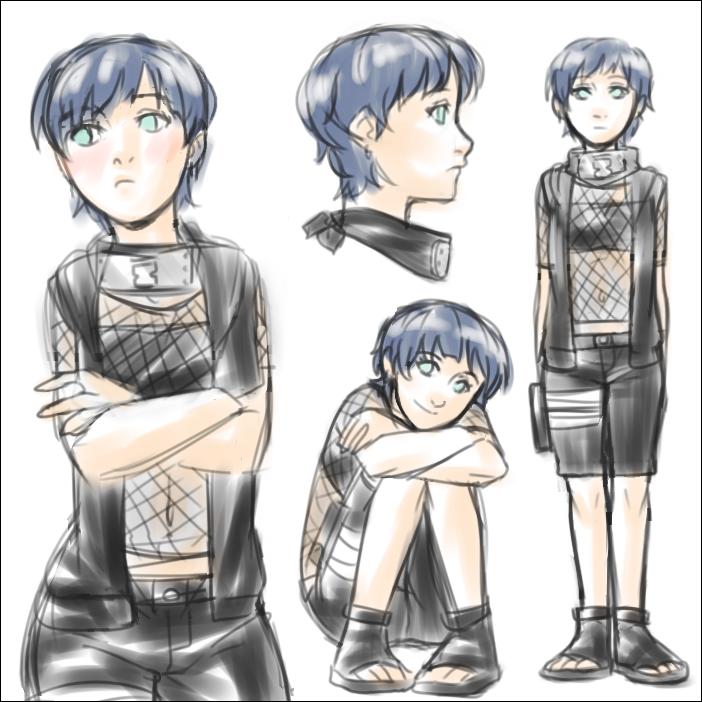 Naruto - Ai - Daughter of Gaara and Hinata